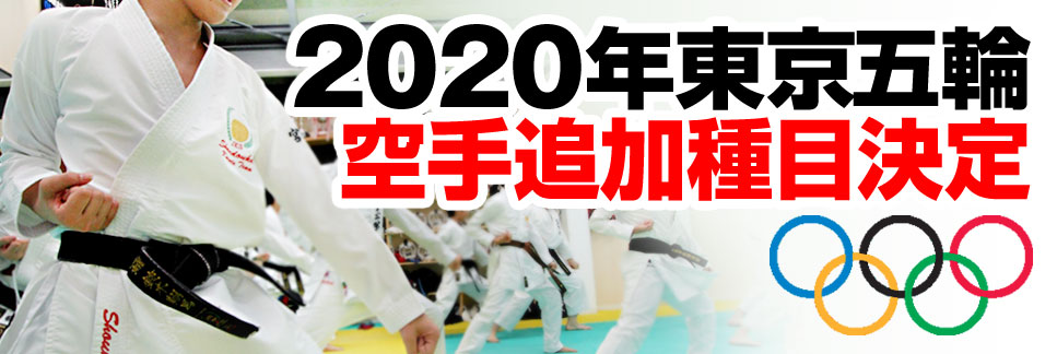 東京オリンピック追加種目正式決定